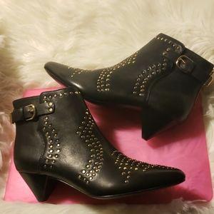 Joie women's Bickson stud black ankle boot